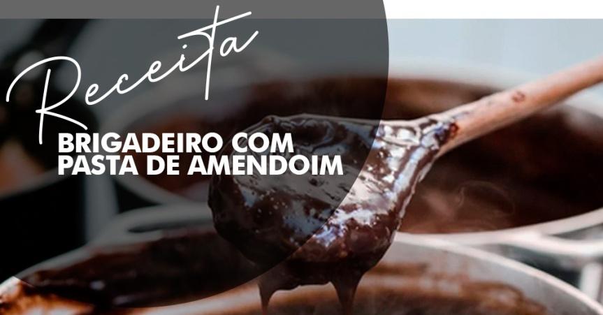 CULINÁRIA | Receita fácil de Brigadeiro com pasta deamendoim
